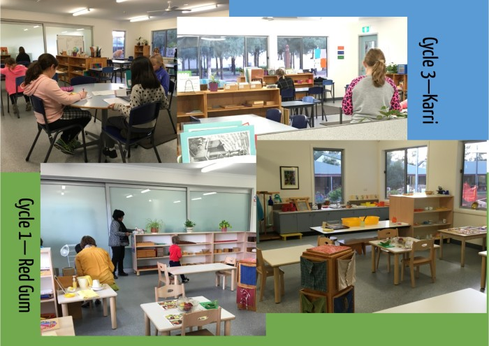 New classrooms at for Karri and Red Gum.